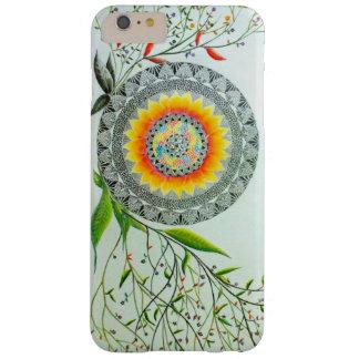 Belleza en el caso del iPhone de Flowers_ de la Funda Barely There iPhone 6 Plus
