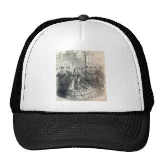 Belleza meridional, 1861 gorro de camionero