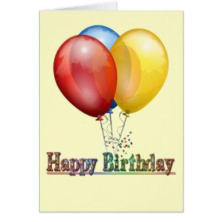 Belleza simple - tarjeta de cumpleaños