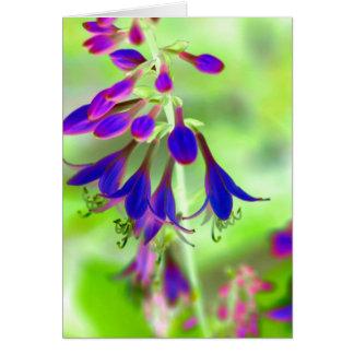 Bellflowers Tarjeta Pequeña