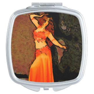 Bellydancer elegante espejos compactos