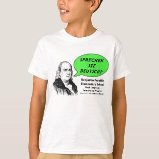Ben Franklin habla alemán Camiseta