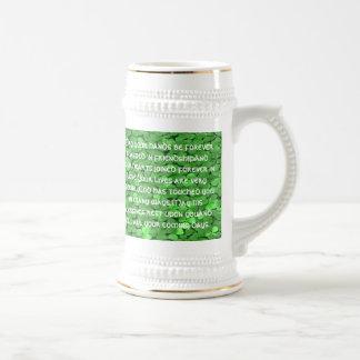 Bendición irlandesa del boda - jarra de cerveza