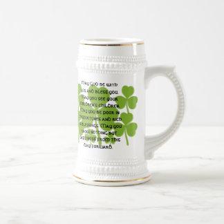 Bendición irlandesa del boda - modificada para jarra de cerveza