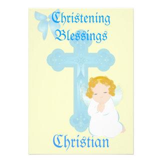 Bendición-Personalizar del bautizo del muchacho