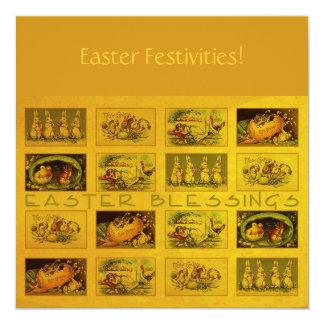 Bendiciones de Pascua Invitación 13,3 Cm X 13,3cm