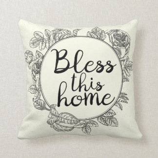 Bendiga esta almohada casera