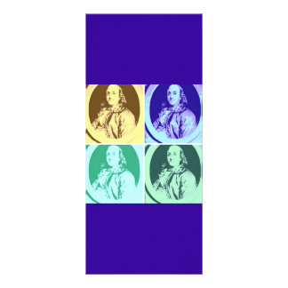 Benjamin Franklin Tarjeta Publicitaria Personalizada