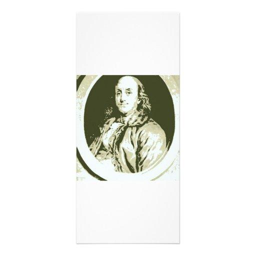 Benjamin Franklin Tarjetas Publicitarias