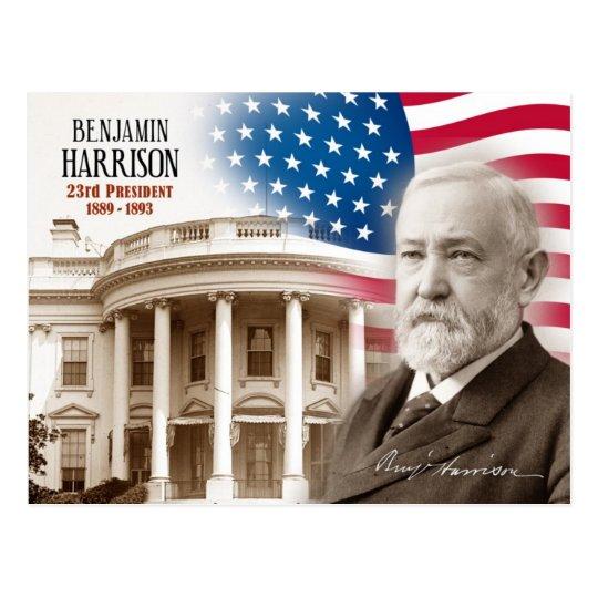 Benjamin Harrison - 23ro presidente de los Postal