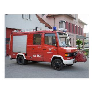Benz 711D Rosenbauer de Mercedes Postal