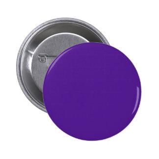 Berenjena, violeta, añil - color sólido elegante pin