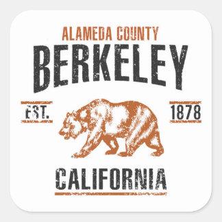 Berkeley Pegatina Cuadrada