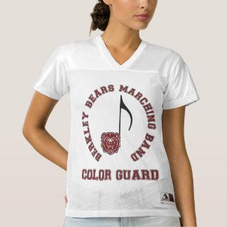 Berkley lleva a la banda - guardia de honor - camiseta de fútbol americano para mujer