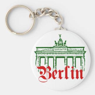 Berlín Alemania Llavero Redondo Tipo Chapa