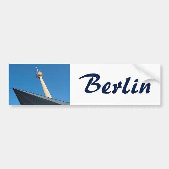 Berlín Fernsehturm Pegatina Para Coche