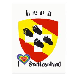 Berna bernesa Bernesa Bärn Suiza Suisse tarjeta