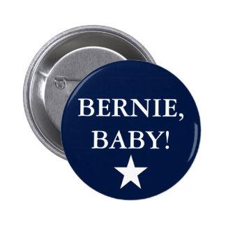 ¡Bernie, bebé! Chapa Redonda De 5 Cm