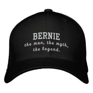 Bernie el hombre, el mito, la leyenda gorras de beisbol bordadas