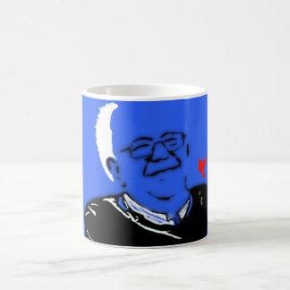 Bernie nuestra lucha revolucionaria taza de café