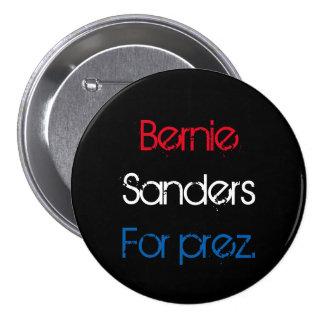 Bernie para el presidente chapa redonda de 7 cm