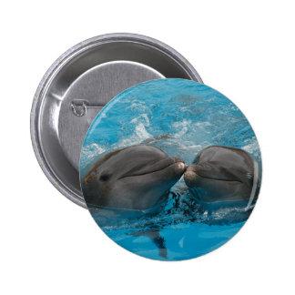 Besar delfínes chapa redonda de 5 cm