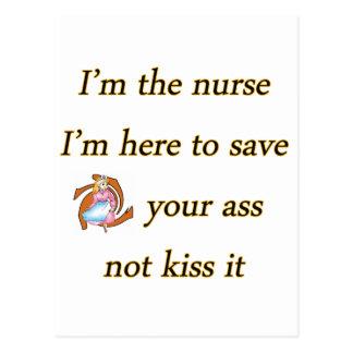 besar la copia de la enfermera postales