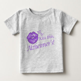 ¡Bese a este Alzheimer! Camiseta De Bebé