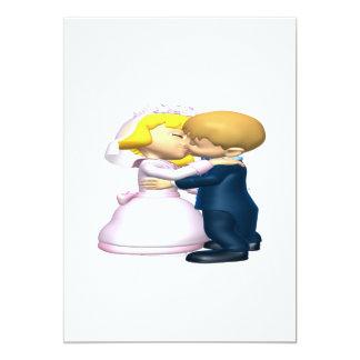 Bese a la novia invitación