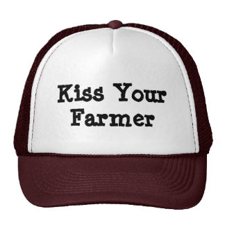 Bese a su granjero gorros bordados