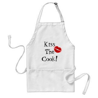 ¡Bese al cocinero Delantal