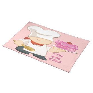 """Bese el paño Placemat (20"""" del cocinero x 14"""") Mantel"""