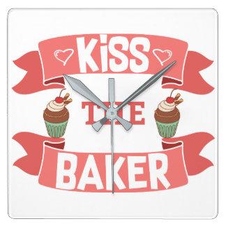 Bese el reloj de pared del panadero