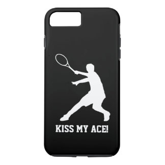BESE MI cita divertida del jugador de tenis del AS Funda Para iPhone 8 Plus/7 Plus