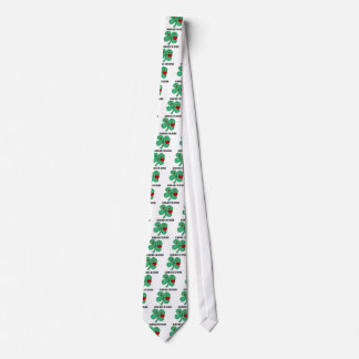 Béseme que soy irlandés corbatas personalizadas