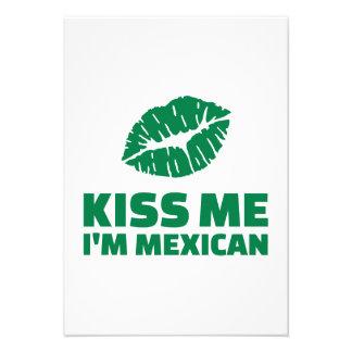 Béseme que soy mexicano St Patrick