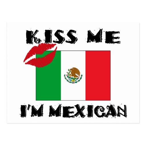 Béseme que soy mexicano postal
