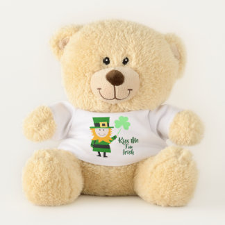 Béseme que soy oso irlandés/de St Patrick del día