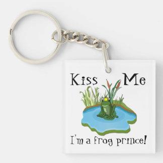 Béseme que soy príncipe llavero de la rana