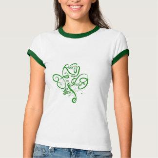 Béseme que soy trébol irlandés de la vid II Camisas