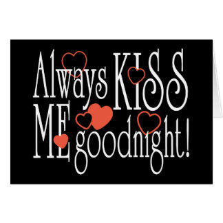 Béseme siempre buenas noches felicitaciones