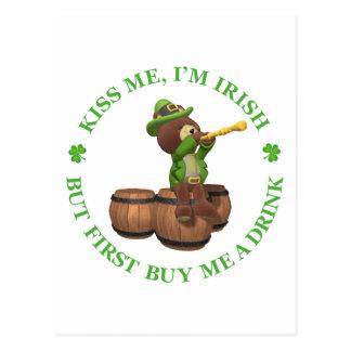 Béseme, yo son irlandés - solamente primera compra postal