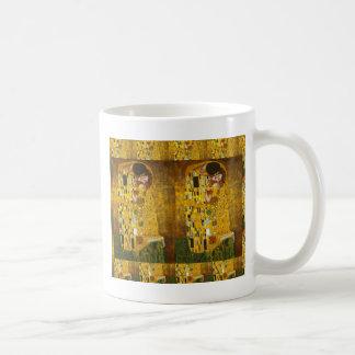 Beso 2.gif de Klimt Taza Clásica
