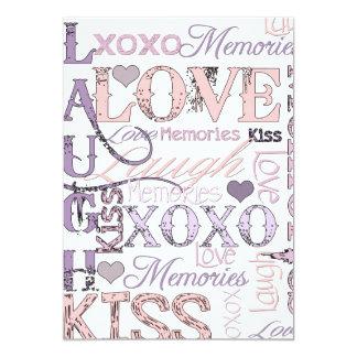 Beso del amor de la risa comunicados
