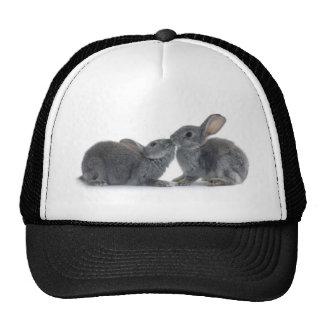 Beso del conejo gorra