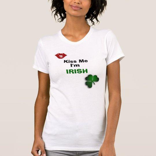 Beso del IRLANDÉS Camiseta