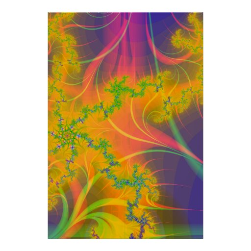 Beso tropical poster
