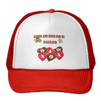 Besos y abrazos para mi gorra del marinero
