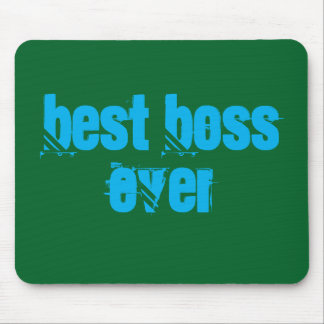 Best boss Ever Mousepad Alfombrilla De Ratón