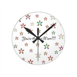 Best Mom Reloj Redondo Mediano